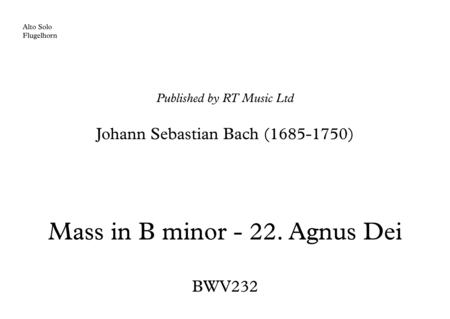 Bach BWV232 - Agnus Dei