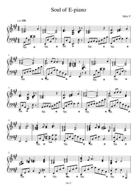 Soul of E-piano
