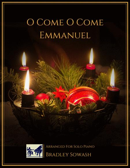 O Come O Come Emmanuel - Solo Piano