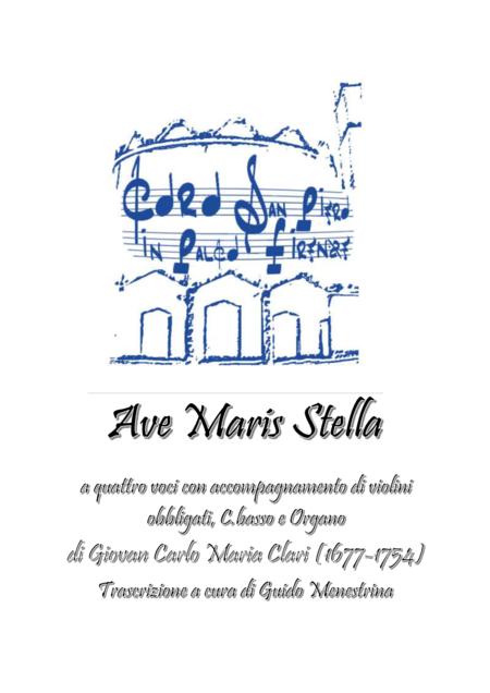 Giovan Carlo Maria Clari - Ave Maris Stella