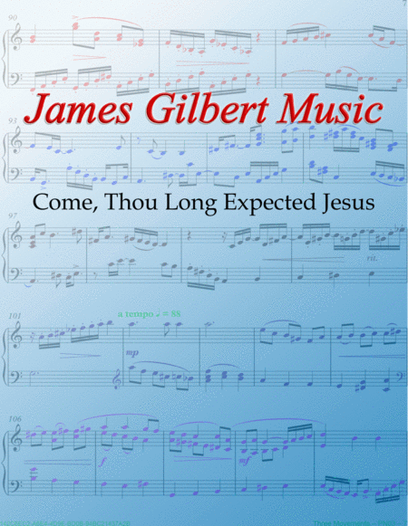 Come, Thou Long-Expected Jesus (STUTTGART)