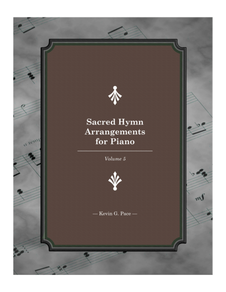 Sacred Hymn Arrangements for Piano - book 5