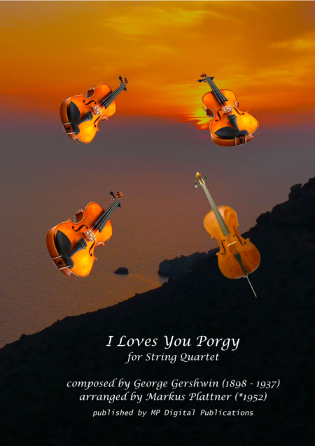 I Loves You Porgy for String Quartet