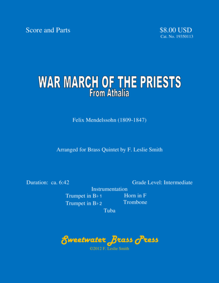 War March of the Priests (from Athalia)