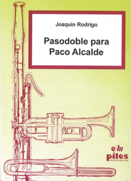 Pasodoble para Paco Alcalde
