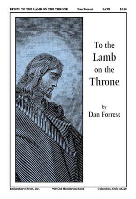 To the Lamb on the Throne (brass quintet and percussion accompaniment)