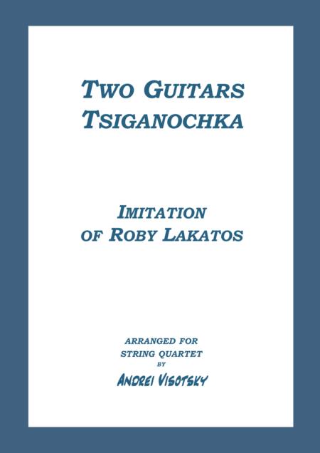 Two Guitars - Tsiganochka - Imitation of Roby Lakatos