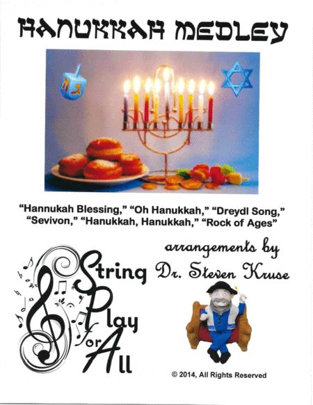 Hanukkah Medley for Violin Ensemble