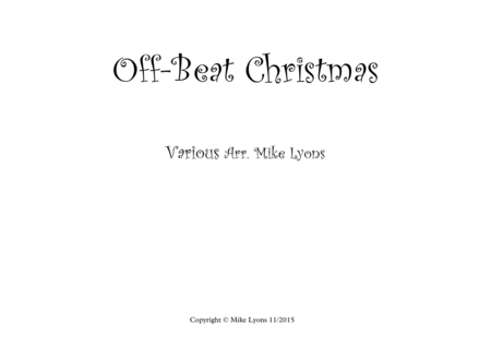 Off-Beat Christmas (Score)
