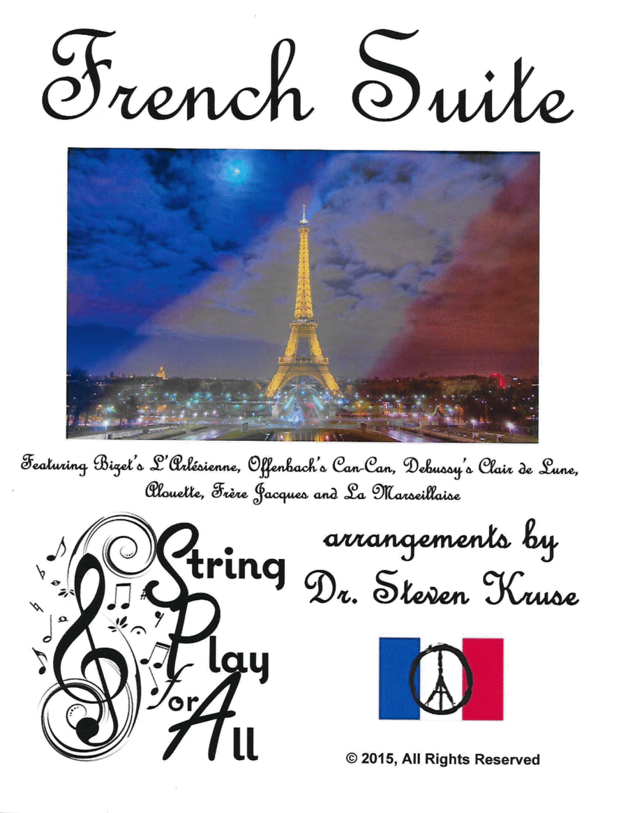 French Suite, in memory of the Paris Victims