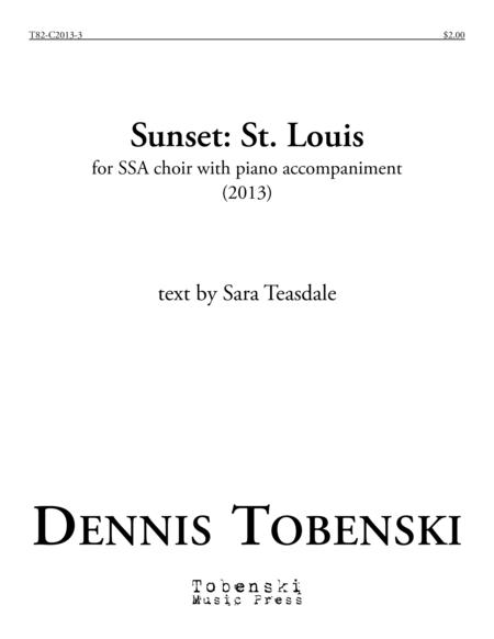 Sunset: St. Louis