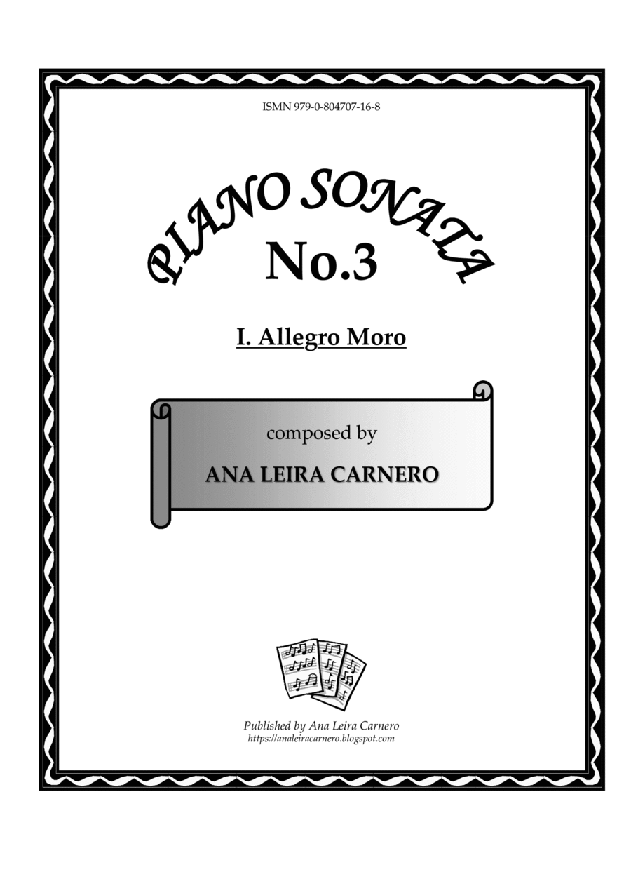 ALLEGRO MORO for solo piano
