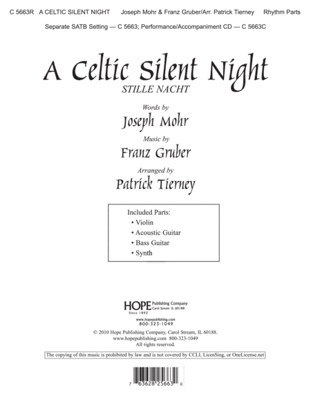 A Celtic Silent Night