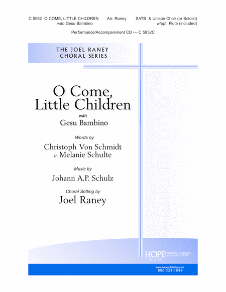 O Come, Little Children With Gesu Bambino