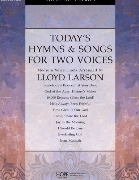 Today's Hymns & Songs For Two Voices
