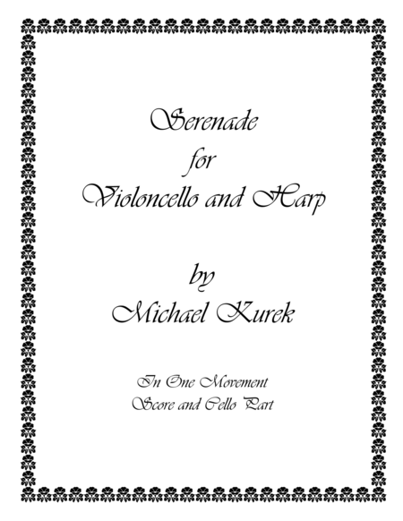 Serenade for Violoncello and Harp