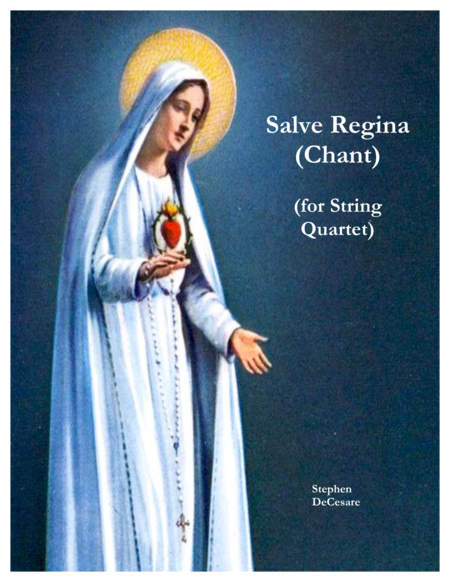 Salve Regina (Chant) (String Quartet)