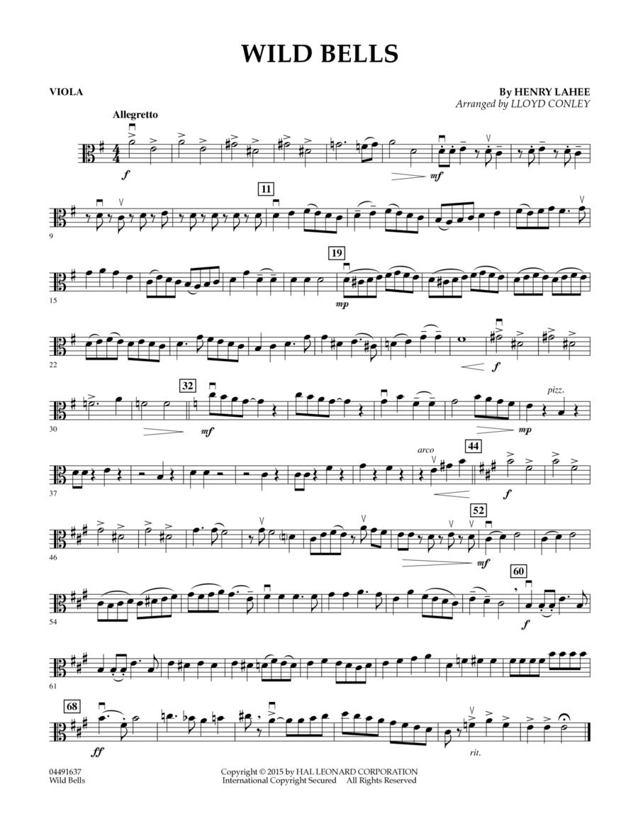 Wild Bells - Viola