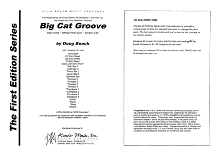 Big Cat Groove - Full Score