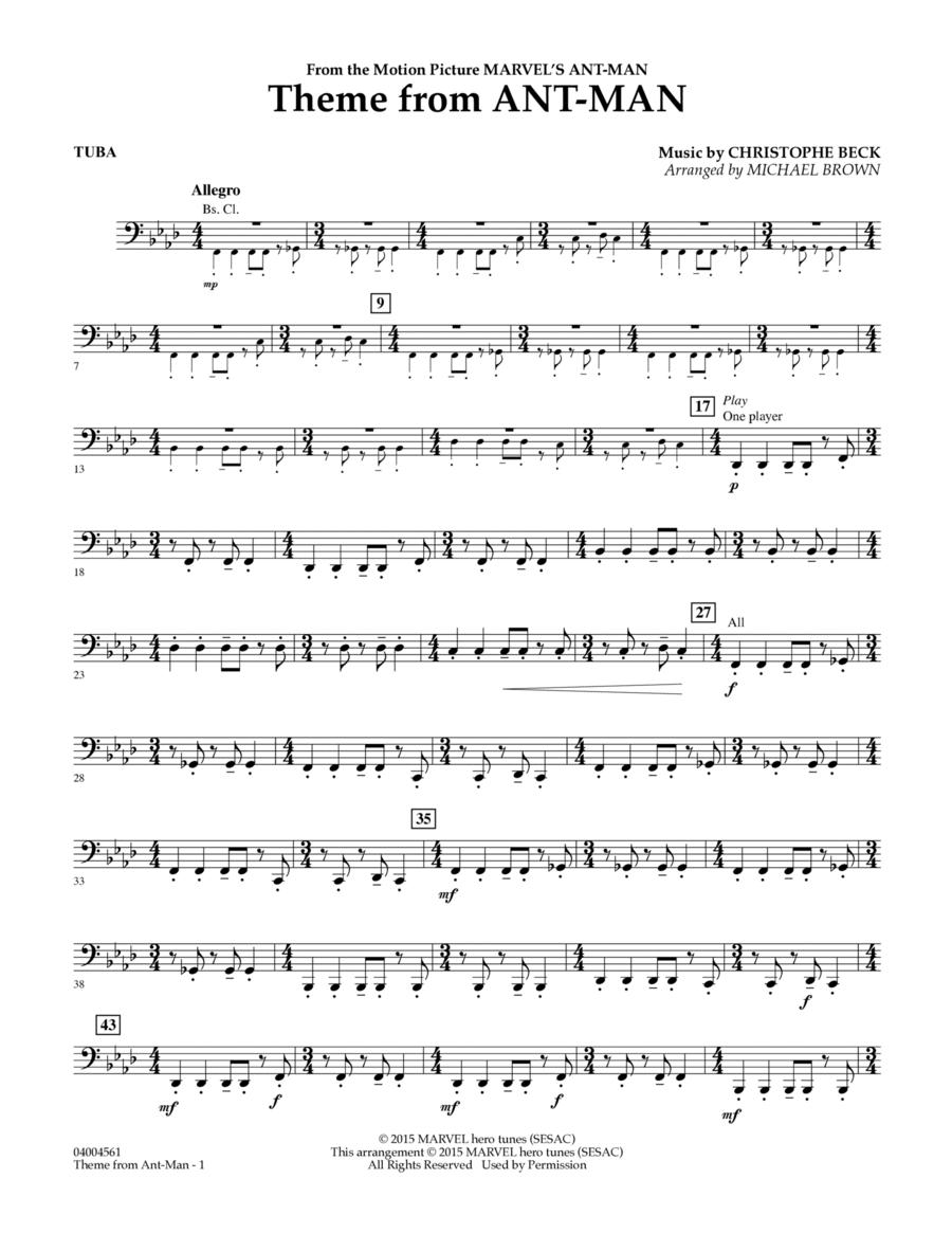 Theme from Ant-Man - Tuba