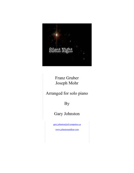 Silent Night - Piano Solo