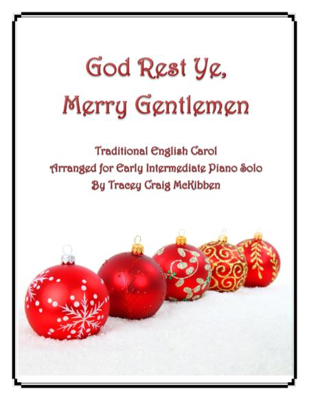 God Rest Ye, Merry Gentlemen (Piano Solo)