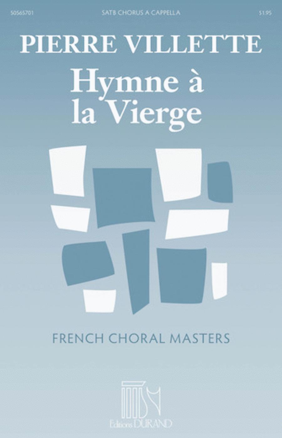 Hymne à la Vierge (Hymn to the Virgin)