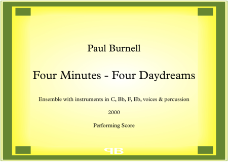 Four Minutes - Four Daydreams