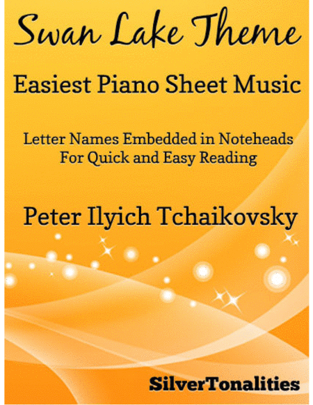 Swan Lake Theme Easiest Piano Sheet Music