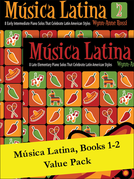 Música Latina Books 1-2 (Value Pack)