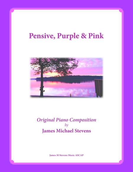 Pensive, Purple & Pink (reflective piano)