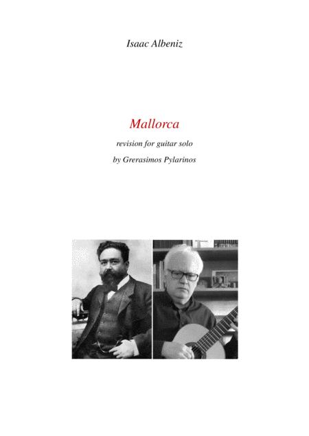 Mallorca by Isaac Albeniz rev.for guitar solo