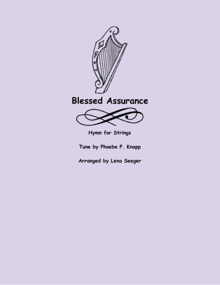 Blessed Assurance (String Orchestra)