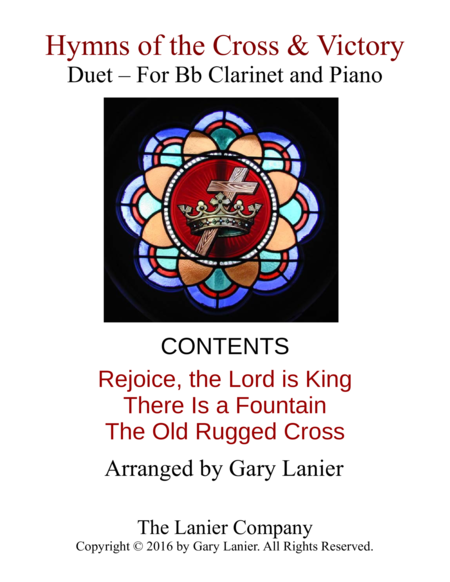 Gary Lanier: Hymns of the Cross & Victory (Duets for Bb Clarinet & Piano)