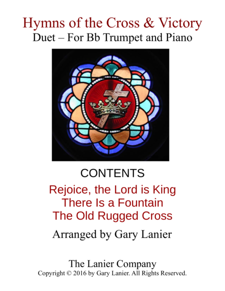 Gary Lanier: Hymns of the Cross & Victory (Duets for Bb Trumpet & Piano)