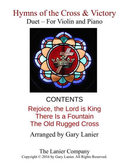 Gary Lanier: Hymns of the Cross & Victory (Duets for Violin & Piano)
