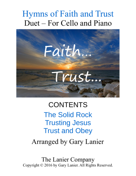 Gary Lanier: Hymns of Faith and Trust (Duets for Cello & Piano)