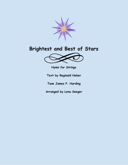 Brightest and Best of the Stars (String Orchestra)