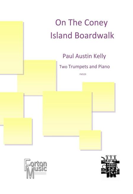 On The Coney Island Boardwalk