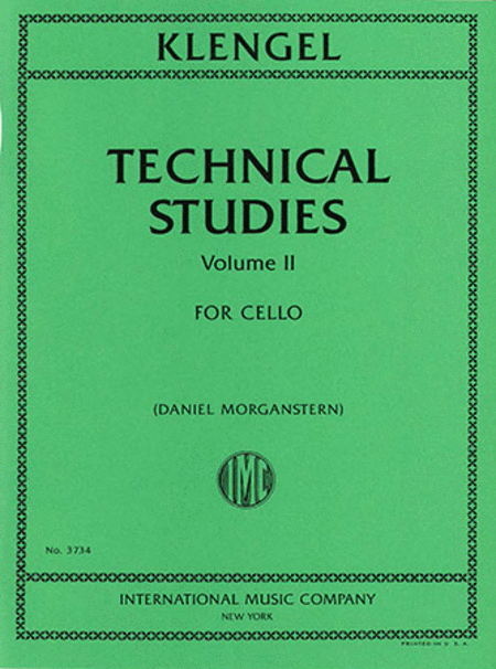 Technical Studies, Volume II
