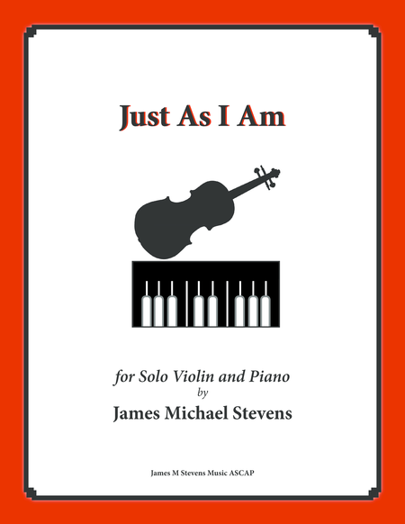 Just As I Am (Piano & Violin)