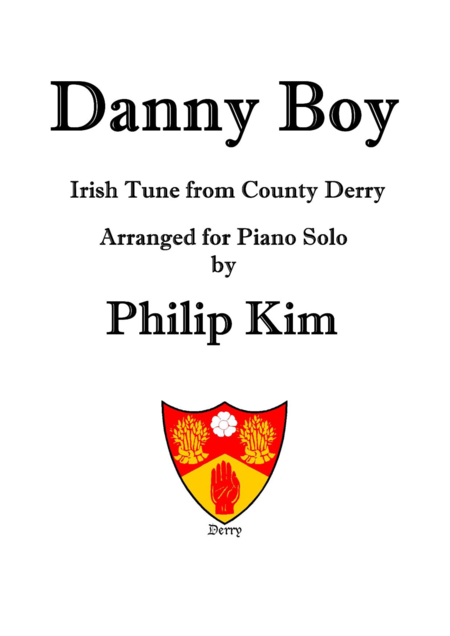 Danny Boy  (Irish Tune from County Derry)