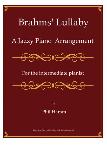 Jazzy Brahms' Lullaby