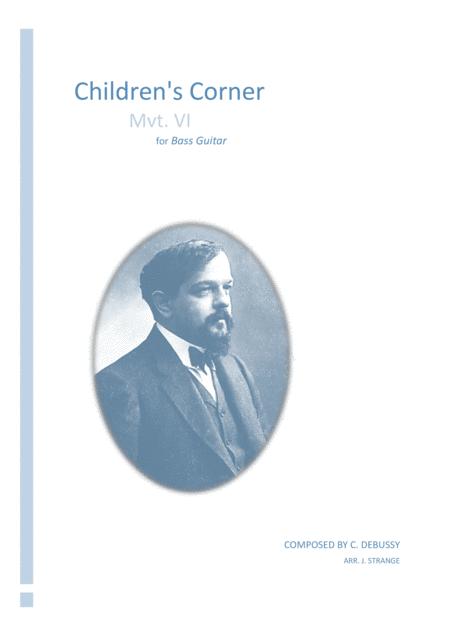 Children's Corner (Movement VI) for solo Bass Guitar