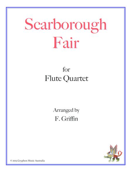 Scarborough Fair for Flute Quartet