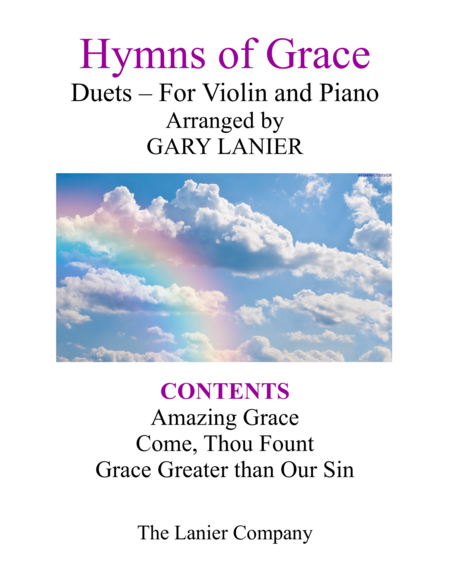 Gary Lanier: HYMNS of GRACE (Duets for Violin & Piano)