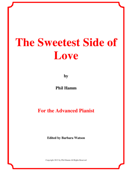 The Sweetest Side of Love