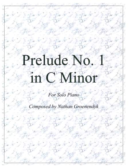Prelude No. 1 in C Minor