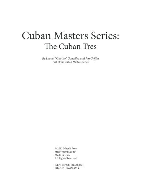 Cuban Masters Series - The Cuban Tres