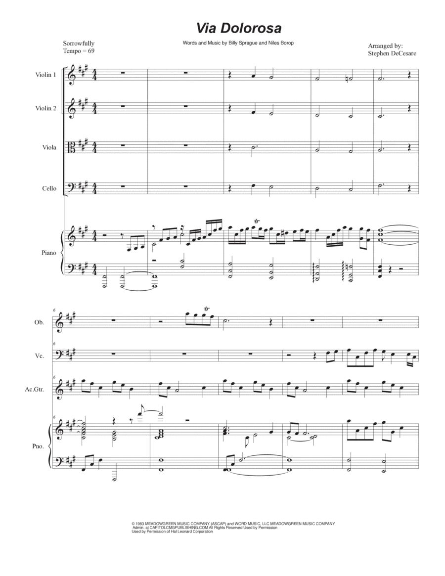Via Dolorosa (for String Quartet)
